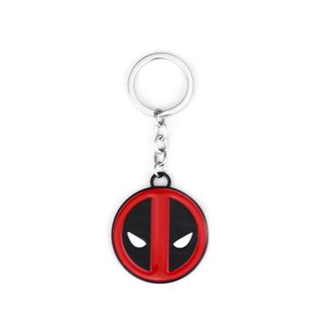 Hot Movie Deadpool Keychain For Men Women Jewelry Gift