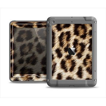 The Leopard Furry Animal Hide Apple iPad Mini LifeProof Nuud Case Skin Set