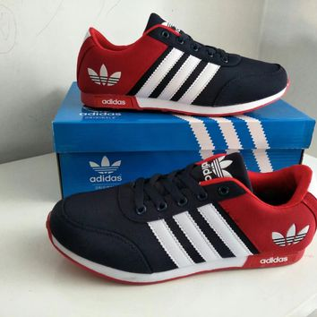 """""""Adidas"""" Women Fashion Sport Casual Multicolor Stripe Sneakers Running Shoes"""