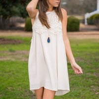 Count On Me Dress, Ivory