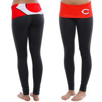 Cincinnati Reds Women's Sublime Knit Leggings – Red