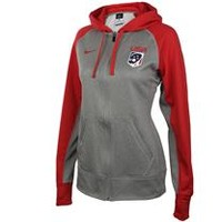 Women's Team USA Nike Therma-FIT Full Zip Fleece Hoodie