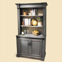 English Bookcase with Adjustable Shelves
