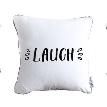 Live Laugh Love Throw Pillow Set of 3 | Includes Pillow Insert