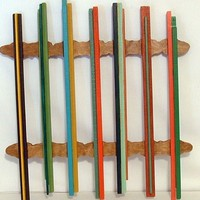Wall Hanging Modern Wood Wall Art, Sculptured Abstract Wood Working.