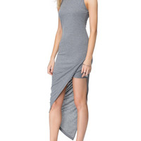 Grey Hem Dress