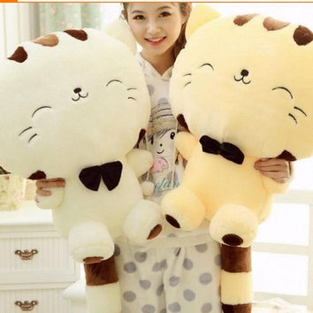 Plush toys doll cute cartoon cat doll of big cat face doll [8403192135]