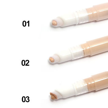 Makeup Face Base Concealer Pencil Acne Blemshes Dark Circles Stick Freckle Remove Cosmetic Maquiagem T1