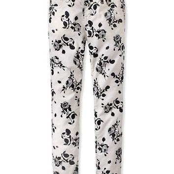 Ruum Girls 7-16 Rocker Floral Skinny Pants