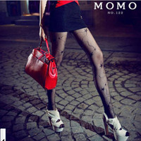Hot Sell Stockings of Punk Sexy Fishnet Pattern Jacquard Pantyhose Leggings