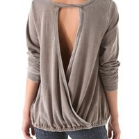 Chaser Cross Back Pullover | SHOPBOP