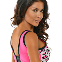 Wild Thing Sporty Bra ~ Hot Pink