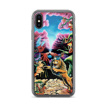 Trippy surreal ALL sizes iPhone Cases The Wrath by Vincent Monaco available for ALL iPhone models.