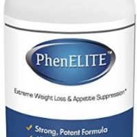 PhenELITE - HIGHEST Rated Pharmaceutical Grade Weight Loss Diet Pills - Fast Weight Loss, Hyper-Metabolising Fat Burner and Appetite Suppressor - Lose Weight 100% Guaranteed! (1 Bottle - 1 Month Supply)