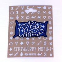 Nap Champ Iron-On Patch