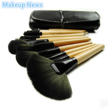 Professional 32 pcs/lot Makeup Brushes Set For Women Fashion Soft Vander Eyebrow Shadow Make Up Brush Set Kit + Pouch Bag News