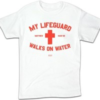 Lifeguard White - Medium - Christian T-Shirt
