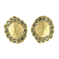 House of Harlow 1960 Jewelry Geodesic Stud Earrings