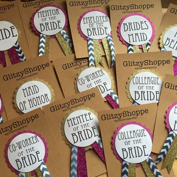 Bachelorette Party Pins, Name Tags, Bridal Party Pins, Birthday Party Pins CUSTOM Pin