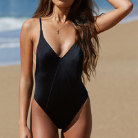 LA Hearts Side Lace-Up One Piece Swimsuit at PacSun.com