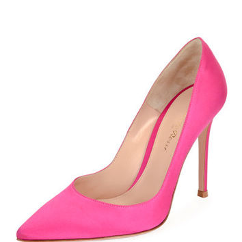 Gianvito Rossi Gianvito Silk 105mm Pump
