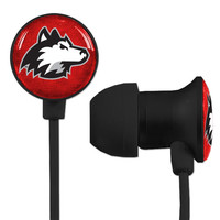 Northern Illinois Huskies Scorch Earbuds + Mic with BudBag