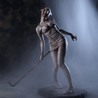 Silent Hill 2 Bubble Head Nurse 1/6 Scale Statue (Re-run)
