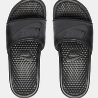 Nike Benassi Just Do it Black Slider Sandals