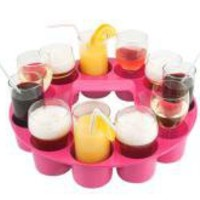 Pink Sombrero Drinks Carrier Tray | Living & Dining | TCH | 16.49 - The Contemporary Home Online Shop