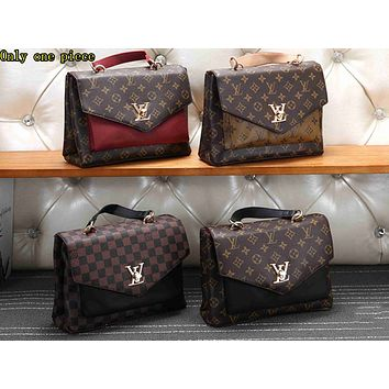 LV Fashion Hot Selling Lady's Full-Printed Colour-Coloured Single Shoulder Bag
