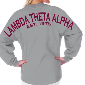 Lambda Theta Alpha Est. 1975 Spirit Football Jersey™ - Sorority - SHOP