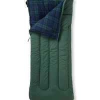 Camp Sleeping Bag, Flannel-Lined 40 | Now on sale at L.L.Bean