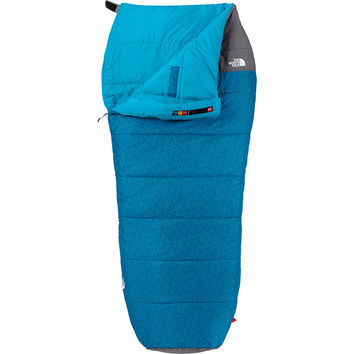 The North Face Dolomite Sleeping Bag: 20 Degree Synthetic Striker Blue/Zinc Grey,