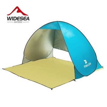 UV-protect gazebo waterproof  open beach tent