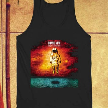 Brand new Deja Entendu tank top black unisex adults size s-xxl