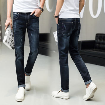 Korean Slim Men Jeans [6528727811]