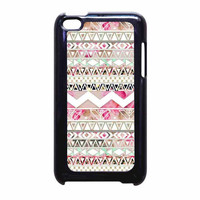 Girly Floral Tribal Andes Aztec iPod Touch 4th Generation Case