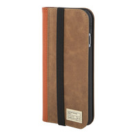 Hex: Icon Wallet For iPhone 6 - Brown Leather (HX1750-BRWN)