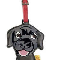 Arora Designs Little Paws Luggage Tags Black Larbrador Retriever