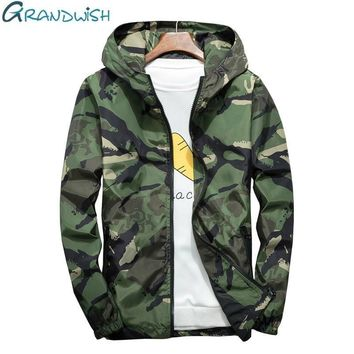 Trendy Grandwish Plus Size 5XL 6XL 7XL Camouflage Jacket Men Bombers Military Mens Hooded Windbreaker Large Size Men's Jacket ,DA569 AT_94_13