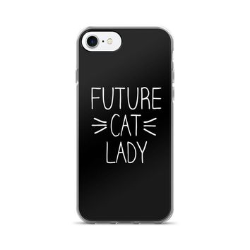 Future Cat Lady Whiskers iPhone 7/7 Plus Case