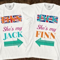 NEW Jack & Finn those funny British Twins on YouTube  - Matching BFF shirts.