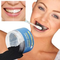 Natural Activated Coconut Charcoal Teeth Whitening Powder