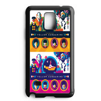 Yellow Submarine Color 2 Samsung Galaxy Note Edge Case