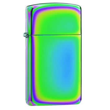 Zippo 20493 Slim Spectrum Chrome Plated Windproof Lighter
