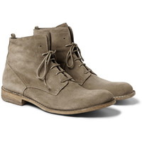 Officine Creative - Suede Lace-Up Boots | MR PORTER