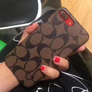 Perfect Coach Fashion iPhone Phone Cover Case For iphone 6 6s 6plus 6s-plus 7 7plus 8 8plus X
