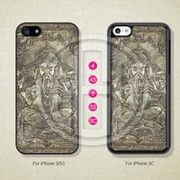 Phone Cases, iPhone 5S Case, iPhone 5 Case, iPhone 5C Case, iPhone 4 case, iPhone 4S case, Ganesha Buddha, Case For iPhone --L50067