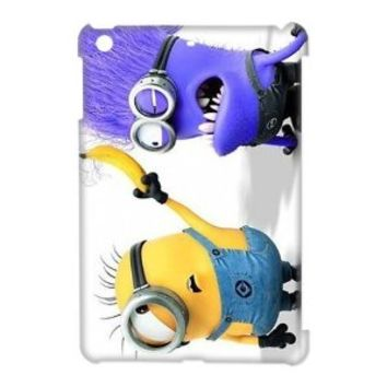 Funny Despicable Me for iPad MINI Durable Plastic Case-Creative New Life
