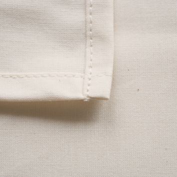 Organic Cotton Percale Fitted Crib Sheet